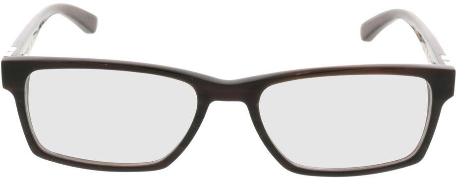 Picture of glasses model Wood Fellas Optical Maximilian espresso 53-17 in angle 0