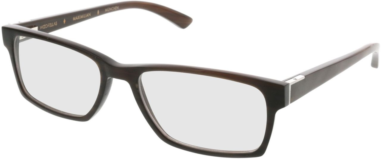 Picture of glasses model Wood Fellas Optical Maximilian espresso 53-17 in angle 330