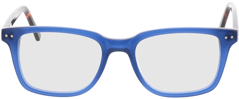 Picture of glasses model Saturn-transparent blau in angle 0