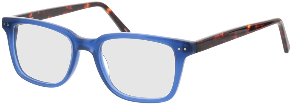 Picture of glasses model Saturn-transparent blau in angle 330