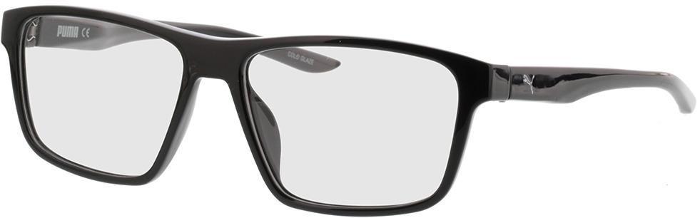 Picture of glasses model Puma PU0209O-001 56-16 in angle 330