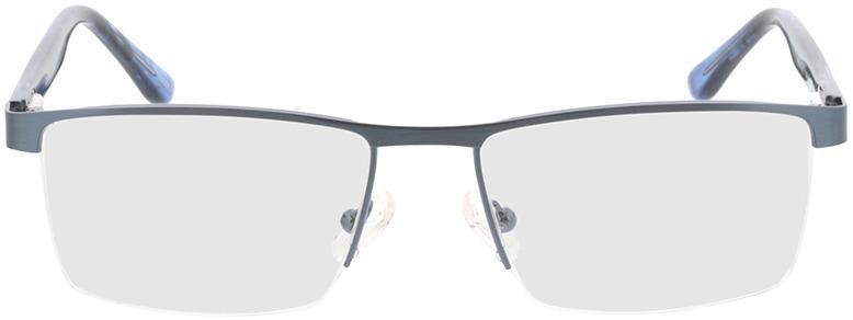 Picture of glasses model Daxton-matt blau/blau-meliert in angle 0