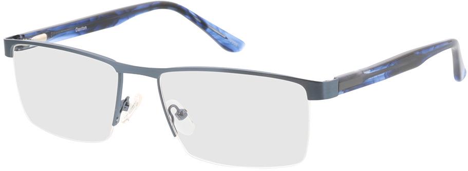 Picture of glasses model Daxton-matt blau/blau-meliert in angle 330
