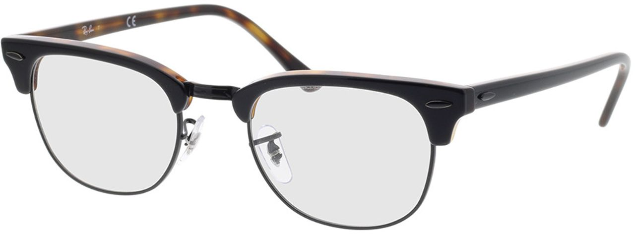 Picture of glasses model Ray-Ban Clubmaster RX5154 5909 51-21 in angle 330