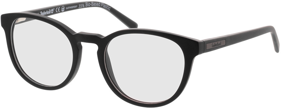 Picture of glasses model Timberland TB1579 002 49-19 in angle 330