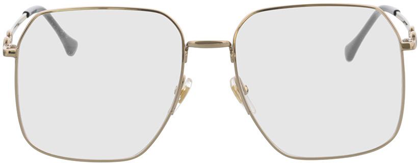 Picture of glasses model Gucci GG0952O-002 57-17 in angle 0