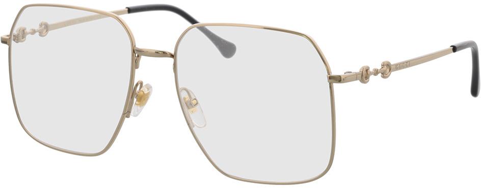 Picture of glasses model Gucci GG0952O-002 57-17 in angle 330