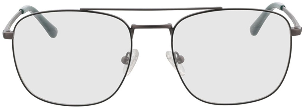 Picture of glasses model Gordon-anthrazit/grün in angle 0