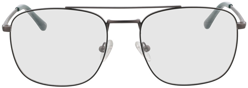Picture of glasses model Gordon antraciet/groen in angle 0