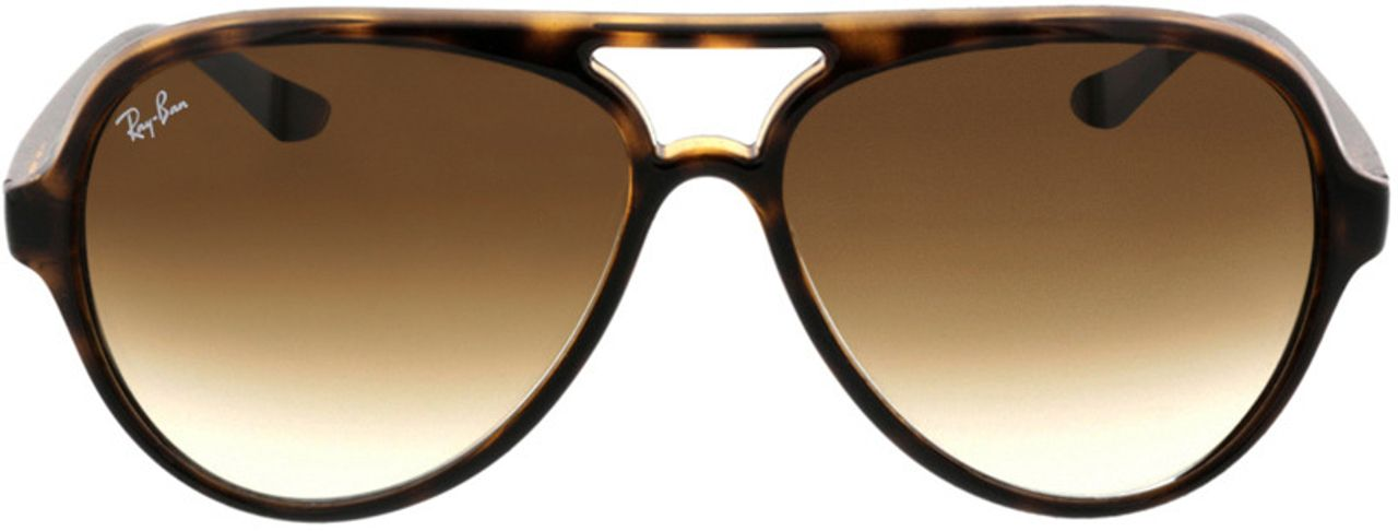 Picture of glasses model Ray-Ban CATS 5000 RB4125 710/51 59-13 in angle 0