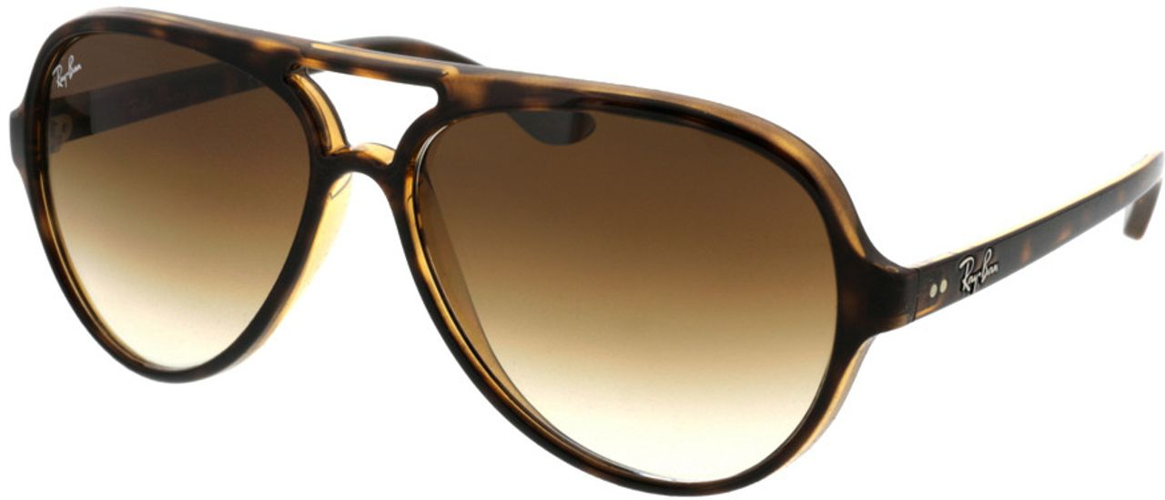 Picture of glasses model Ray-Ban CATS 5000 RB4125 710/51 59-13 in angle 330