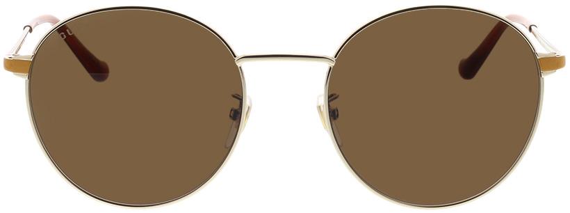 Picture of glasses model Gucci GG0574SK-004 55-20 in angle 0