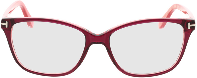 Picture of glasses model Tom Ford FT5293 077 54 15 in angle 0