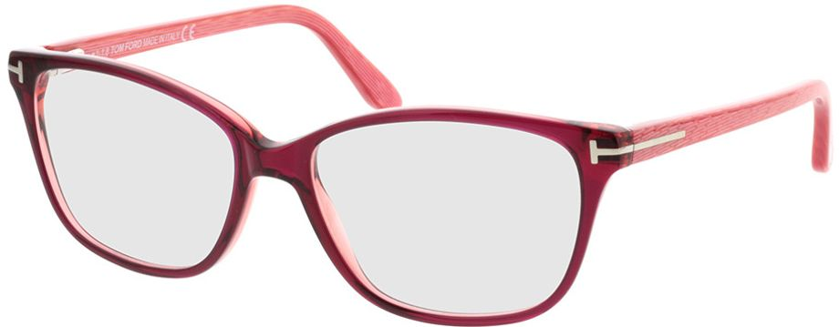 Picture of glasses model Tom Ford FT5293 077 in angle 330