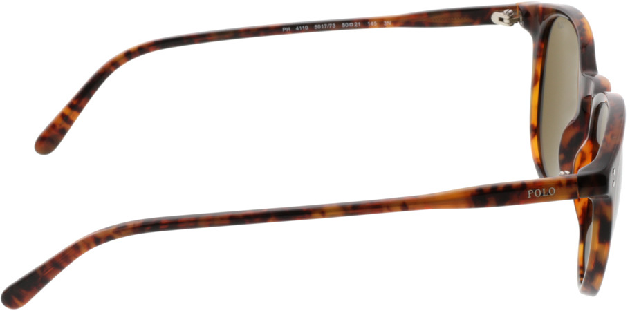 Picture of glasses model Polo Ralph Lauren PH4110 501773 50-21 in angle 90