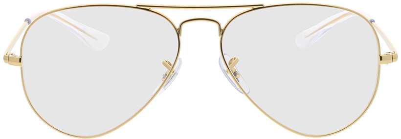 Picture of glasses model Ray-Ban RX6489 3086 55-14 in angle 0