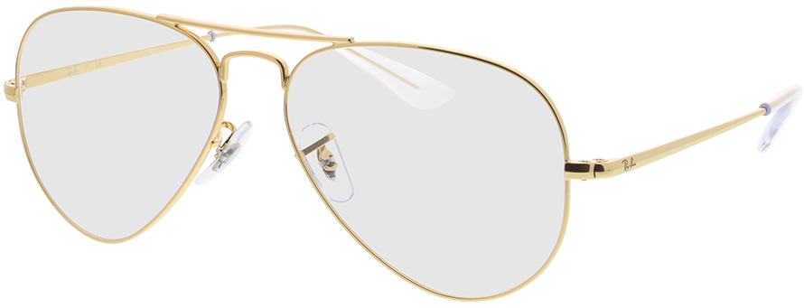 Picture of glasses model Ray-Ban RX6489 3086 55-14 in angle 330