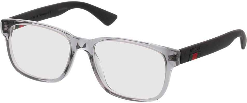 Picture of glasses model Gucci GG0011O-003 53-17 in angle 330