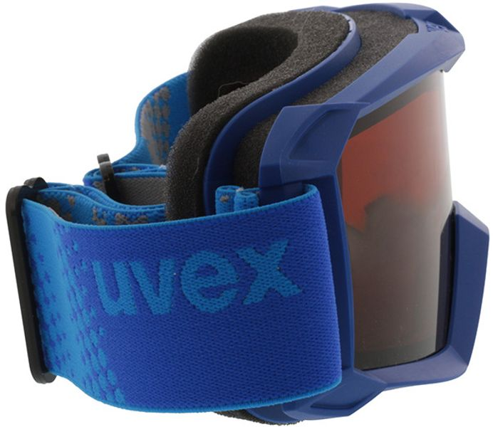 Picture of glasses model Uvex Skibrille Flizz LG blue in angle 90