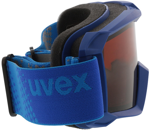 Picture of glasses model Uvex Skibril Flizz LG blauw in angle 90