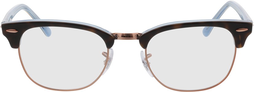 Picture of glasses model Ray-Ban Clubmaster RX5154 5885 51-21  in angle 0