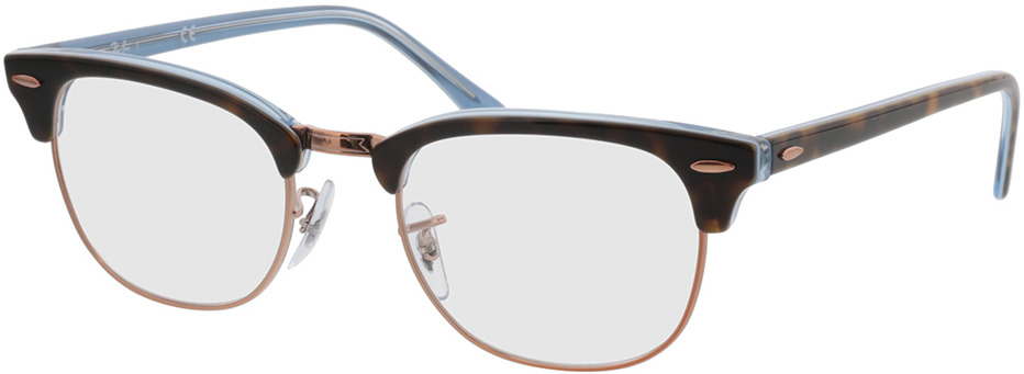 Picture of glasses model Ray-Ban Clubmaster RX5154 5885 51-21  in angle 330
