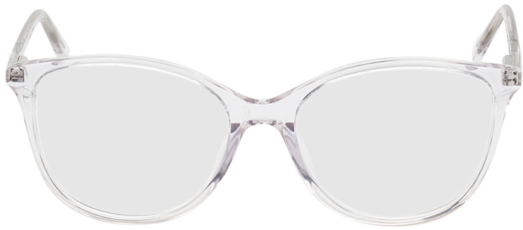 Picture of glasses model Zadar transparant in angle 0