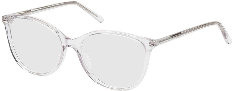 Picture of glasses model Zadar transparant in angle 330
