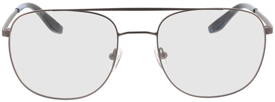 Picture of glasses model Atlas-anthrazit/blau horn in angle 0