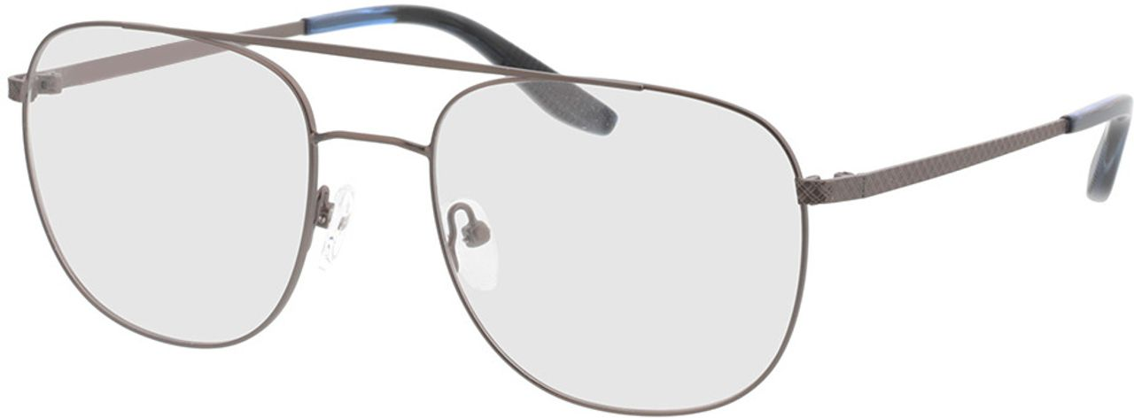 Picture of glasses model Atlas-anthrazit/blau horn in angle 330