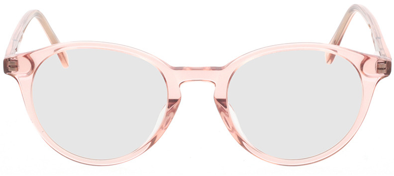 Picture of glasses model Mesa-rosa-transparent in angle 0
