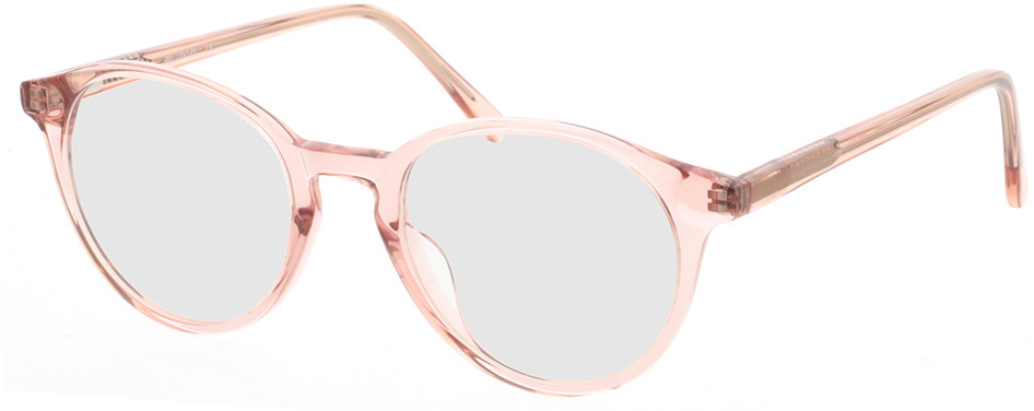 Picture of glasses model Mesa-rosa-transparent in angle 330