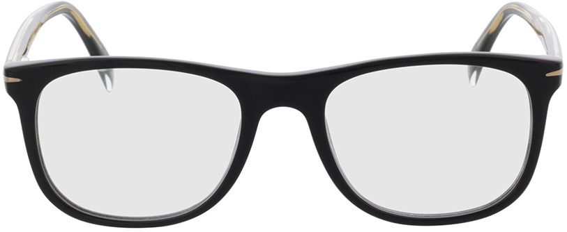 Picture of glasses model David Beckham DB 1051 807 52-19 in angle 0