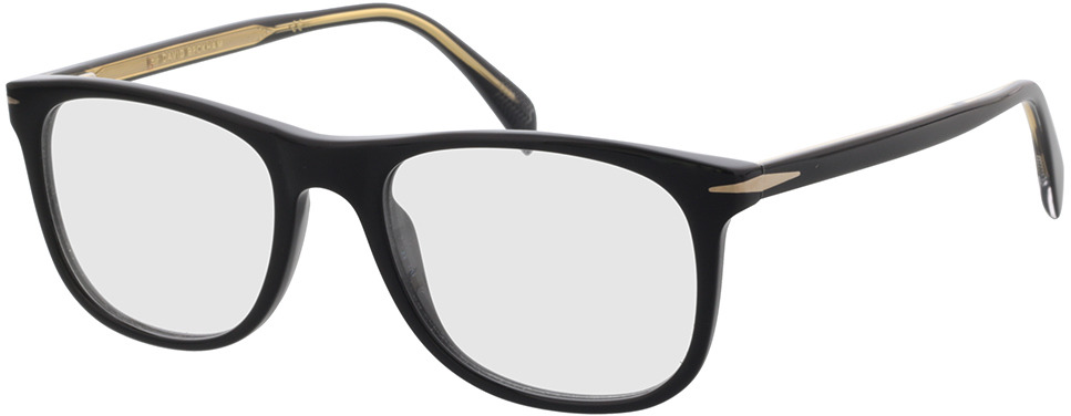 Picture of glasses model David Beckham DB 1051 807 52-19 in angle 330