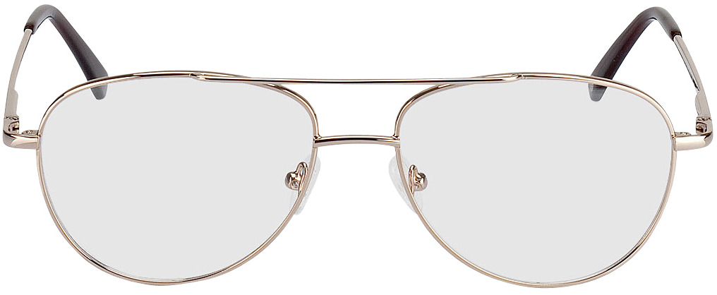 Picture of glasses model Glendale gold in angle 0