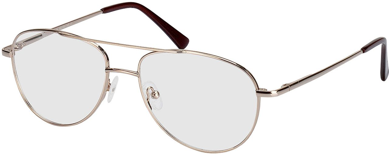 Picture of glasses model Glendale-gold in angle 330