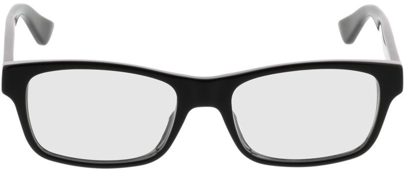 Picture of glasses model Gucci GG0006O-001 53-18 in angle 0
