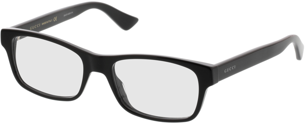 Picture of glasses model Gucci GG0006O-001 53-18 in angle 330