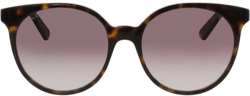 Picture of glasses model Gucci GG0488S-002 54-18 in angle 0