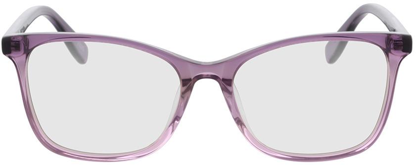 Picture of glasses model Tunja-lila-pink-verlauf in angle 0