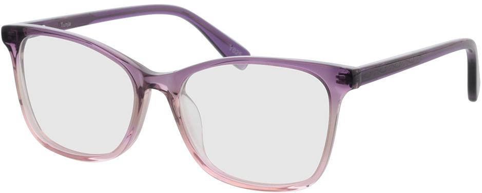 Picture of glasses model Tunja-lila-pink-verlauf in angle 330