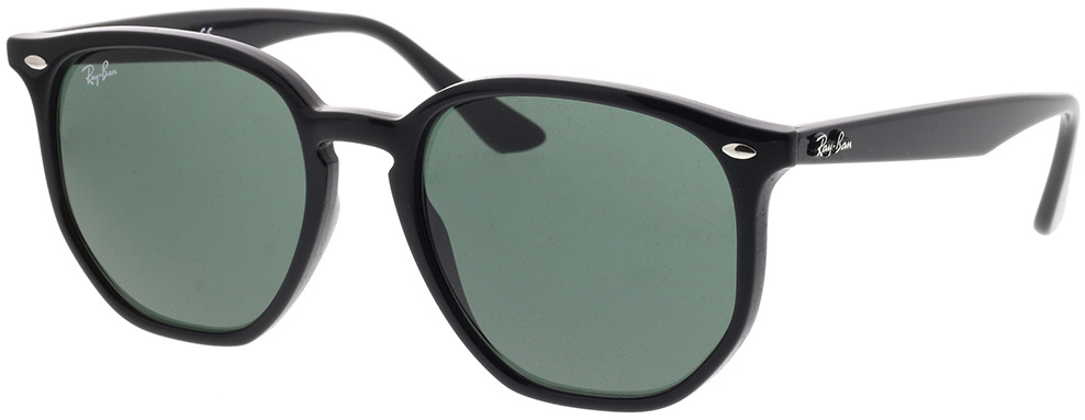 Picture of glasses model Ray-Ban RB4306 601/71 54-19 in angle 330