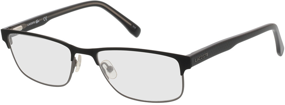 Picture of glasses model Lacoste L2217 001 52-17 in angle 330