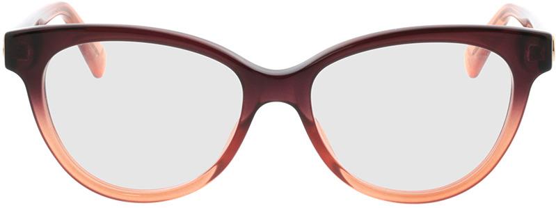 Picture of glasses model Gucci GG0373O-003 52-16 in angle 0