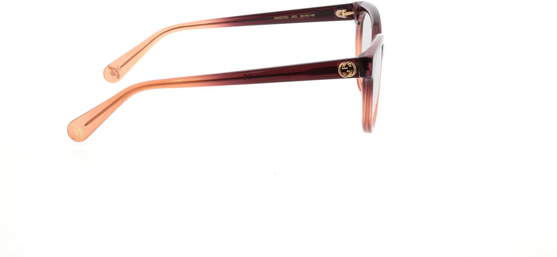 Picture of glasses model Gucci GG0373O-003 52-16 in angle 90