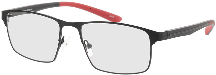 Picture of glasses model Pitane-matt schwarz in angle 330