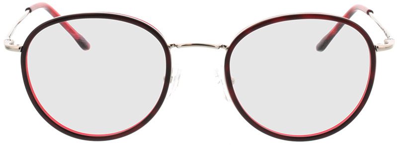 Picture of glasses model Valby-rot/silber in angle 0