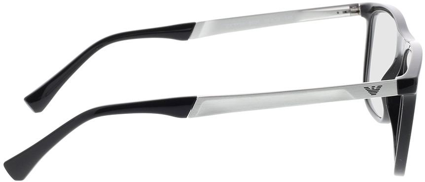 Picture of glasses model Emporio Armani EA3170 5001 55-18 in angle 90
