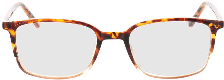 Picture of glasses model Argos-braun-meliert/transparent in angle 0