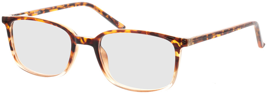 Picture of glasses model Argos-braun-meliert/transparent in angle 330